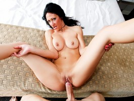 Sweet Shanel takes a massive Cock deep in her Pussy