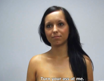 Naive Brunette Newbie Would Never Fuck for 250USD only