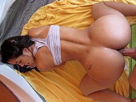 Mofos - Sexy Latina babe gets fucked in a tent