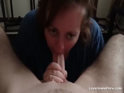 She really knows how to suck