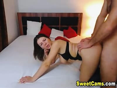 Wild Mature Couple Having Wild Sex on Bed